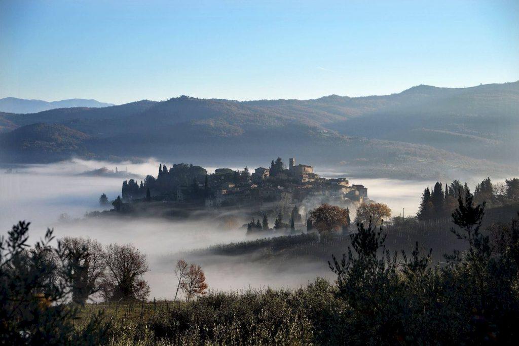 Montefioralle in the Chianti Classico wine zone